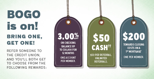 Member Referral Rewards tags